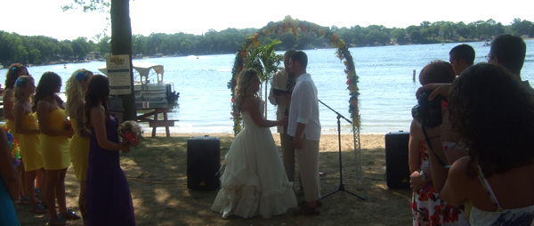 lily lake wedding